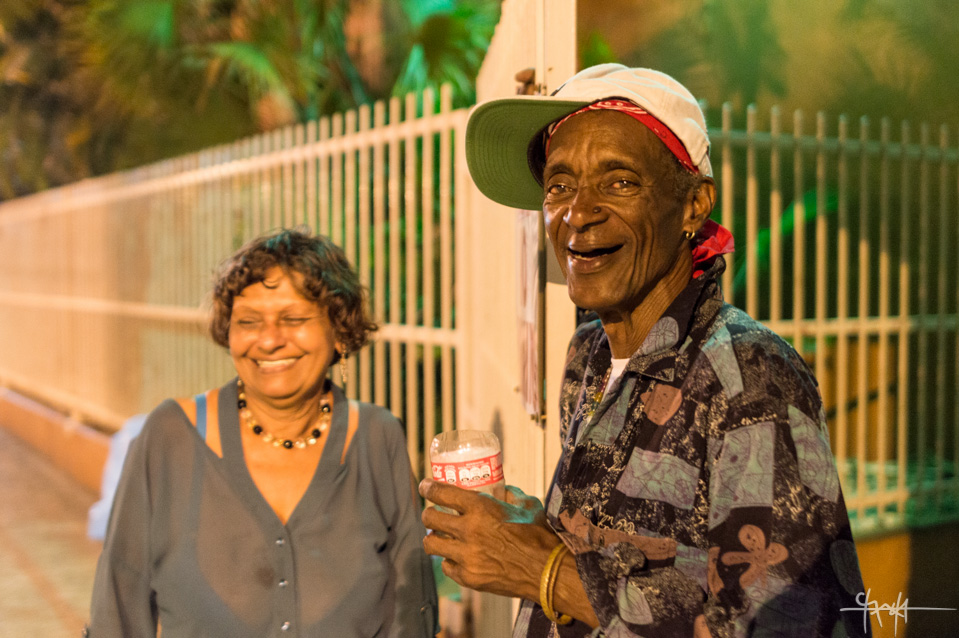 Image Caption: Sandra Jean and Raymond Durham in good spirits as they prepare to close for the night. February 5th, 2016.—Click to read this article.