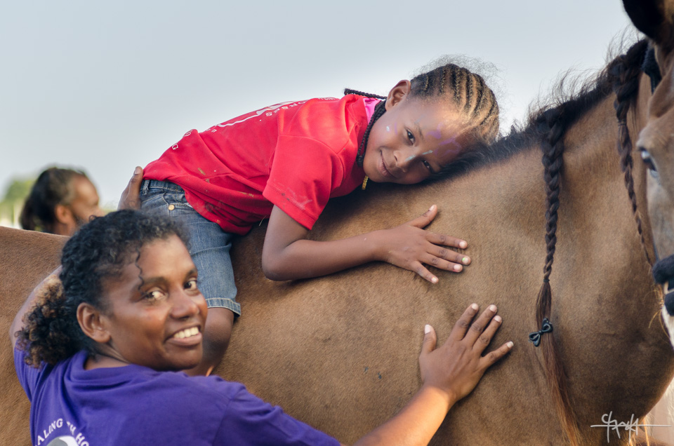 Healing with Horses' Buccoo Integrated Summercamp