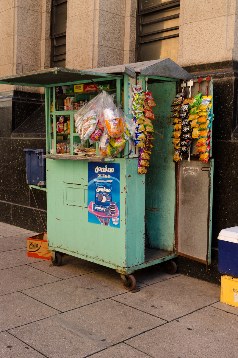 Green Snack Cart