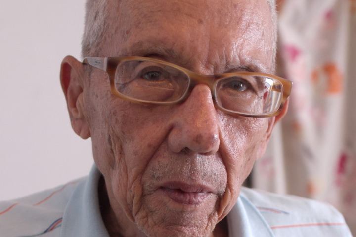 Image Caption: Portrait of Ricardo Low at his Scott-Bushe Street, Trinidad, home. 6th December, 2016.—Click to read this article.