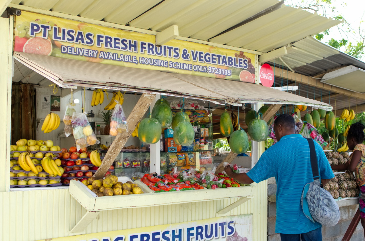 Point Lisas Fresh Fruits and Vegetables