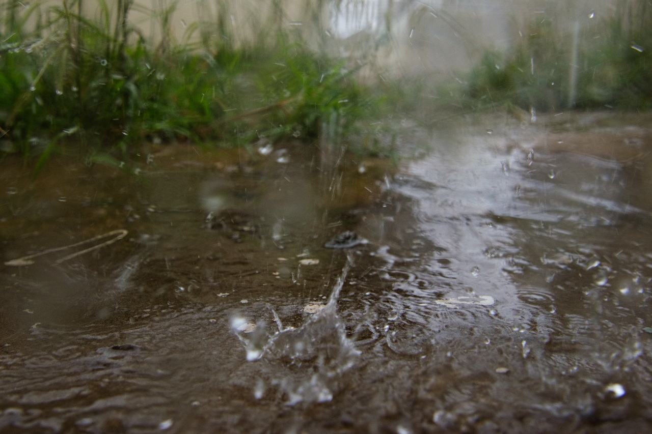 Image Caption: Tropical rain falls onto Port of Spain, Trinidad. 18th July, 2017.—Click to read this article.