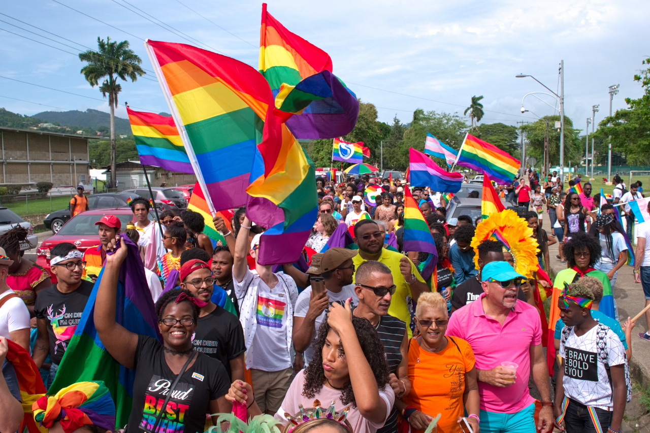 Image Caption: Trinbago's first 'Pride Fair and Parade' on 28th July, 2018.—Click to read this article.