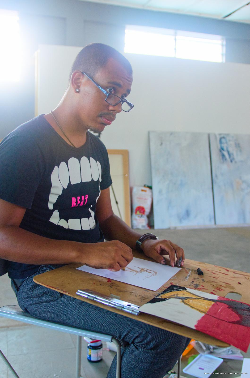 Luis Vasquez La Roche at '200 Drawings'