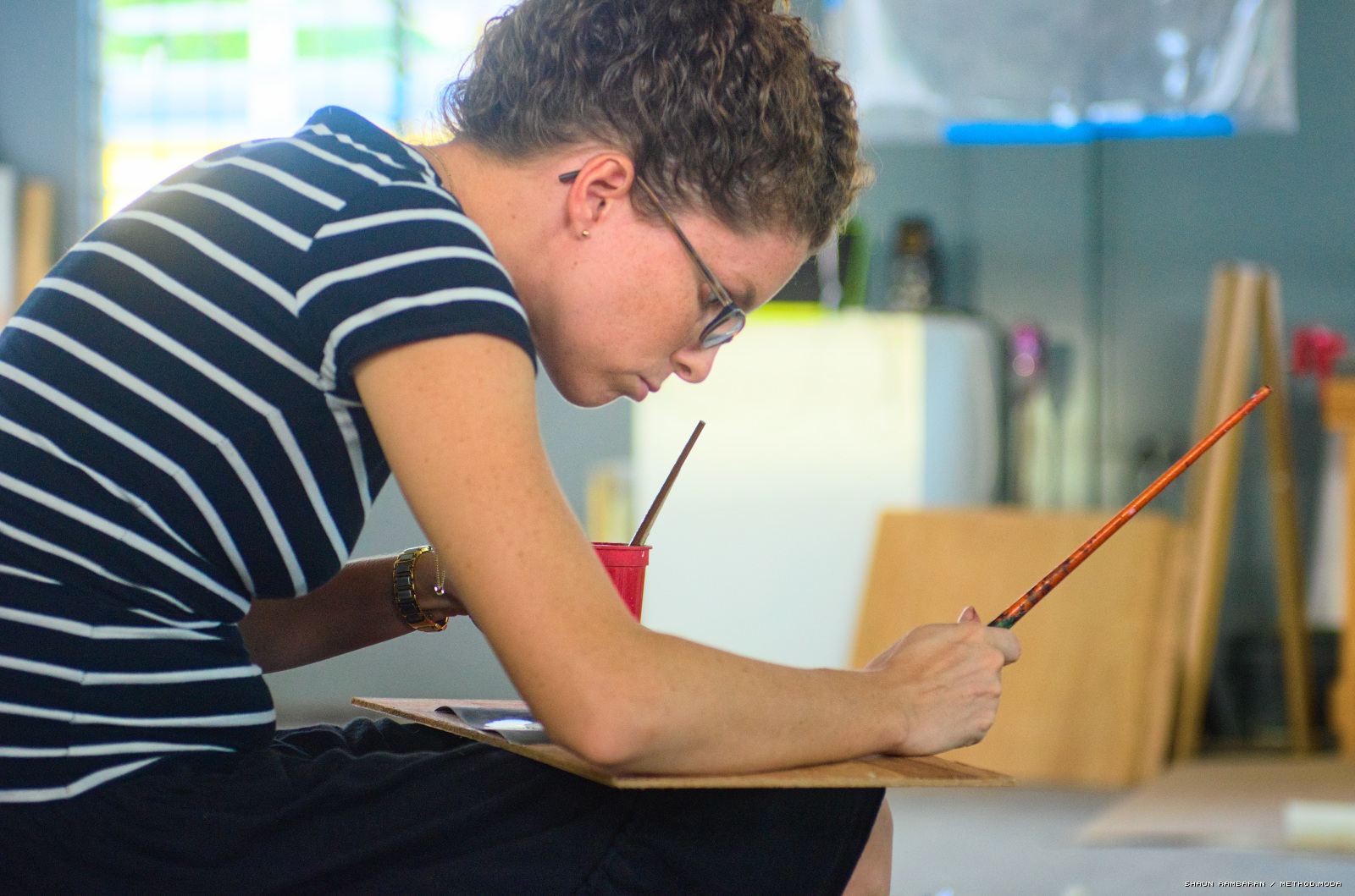 Alicia Milne at '200 Drawings'